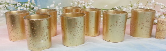 gold mercury votive candle holder for weddings and parties 70. Black Bedroom Furniture Sets. Home Design Ideas