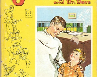 Jerry and Dr Dave Vintage Whitman Tell a Tale Book by Marion Borden Illustrated by Claudine Nankivel