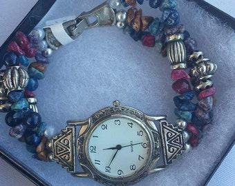 South Western Style Heirloom Watch Double Stretch Band