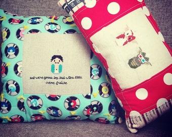 SouthPark Pillow - Gremlins Pillow - Dorm Room Pillow  Gift - Kawaii Pillow - Cross Stitch Pillow - Funny Pillow - Decorative Pillow