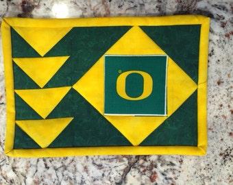 Oregon Mug Rug - Free Shipping!!