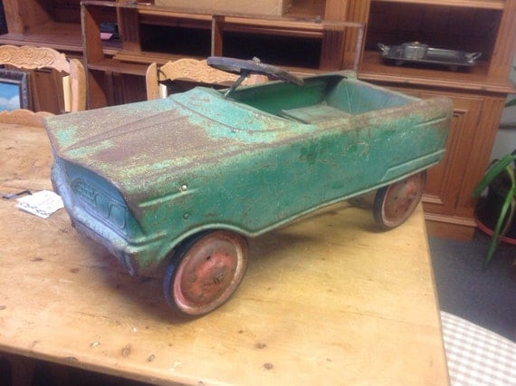 Vintage Pedal Car Convertible 1960's Murray