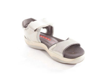 PRADA 90's Platform  Strappy  Sports Sporty Sneaker Sandals