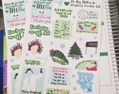 B15 - Christmas Vacation inspired movie sticker kit!!