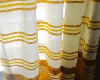 70s Vintage Sears Curtains
