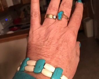 "The ""Blues"" bracelet, Southwest style"