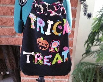 Kids trick or treat cinch hobo bag/purse SALE