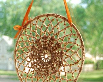 Suncatchers Crochet, Beaded Suncatcher, Crochet Suncatcher, Cottage Decor, Crochet Window Decor, Wall Hanging Crochet, Crocheted Decor