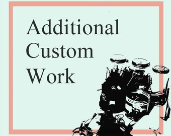 additional custom work after purchase