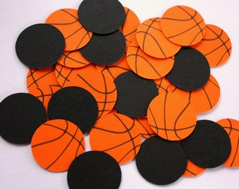 Basketball Confetti - Sports Birthday Confetti - Basketball Party Decorations - Basketball Birthday Decor - Sports Confetti - Baby Shower