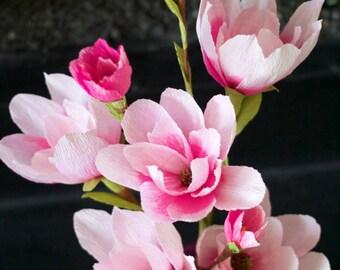 Paper Magnolia handmade