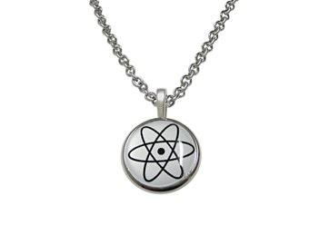 Atom Pendant Necklace
