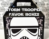 Star Wars Storm Trooper Inspired Favor Boxes
