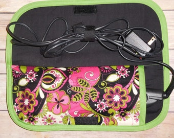 Flat iron or curling iron travel case; heat resistant flat iron travel case