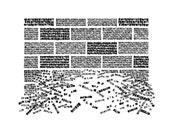 Berlin. Typographic Art Print / handwritten