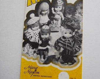 Vintage Kiddlie Knits Booklet