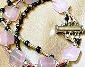 Pink Blush Dakota Rose Quartz Bracelet