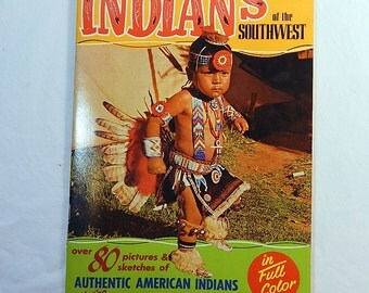 Mirro Krome Indians of the Southwest American Indians Photo Book 1977