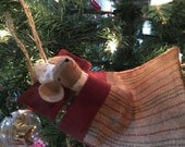 Mouse in Hammock Ornament