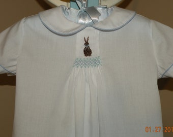 White Little Bunny Day Gown