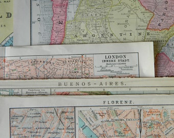Vintage Map Collection.