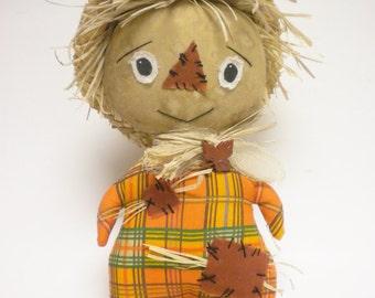Primitive Scarecrow Doll, Halloween Scarecrows, Country Fall Decor