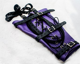 Leather Armbinder Restraint