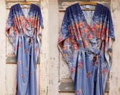 Romantica, delicate, light for magical nights ... Lounge wear, negligee ,Kaftan or kimono for time off