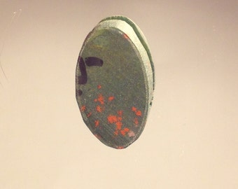Bloodstone Cutting Rough Heliotrope Cabbing Rough Vintage Gem Stone Cutting Material
