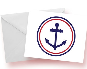 The Anchor Note Card