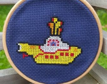 Yellow Submarine Cross-stitch Kit