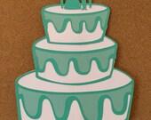 Bridal shower photo props, 1 photo props, Wedding photo props, photo booth props, wedding cake photo prop