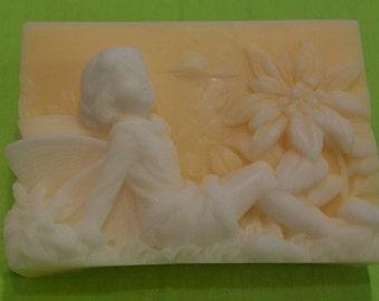 Poured Shea Butter Soap, Nectarine Blossom & Honey Fragrance