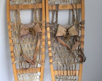 Vintage Faber Snowshoes Made in Canda