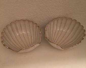 Shell Trays / Pair