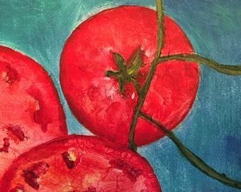 "8X8 Acrylic ""Tomato"" Print"