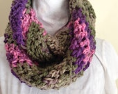 Crochet Cowl, Crochet Infinity Scarf, Crochet Scarf, Women's Accessories, Winter Accessories