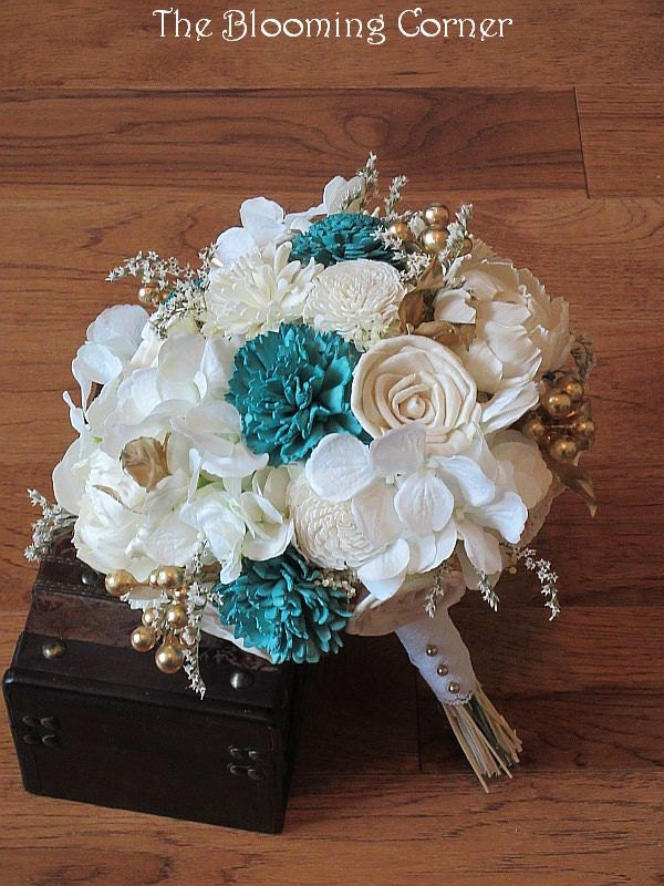 wooden flowers wedding bouquets wedding bouquet sola wood bouquet burlap bridal bouquet 1486