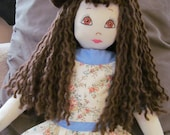 Beautiful, one of a kind, Large Bed doll, Art doll