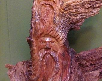 Standing Wood spirit