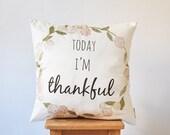 """Winter Sale Thanksgiving Pillow, Decorative Pillow, Kids Pillows, Nursery Pillow, ModernThrow Pillow, 16"""" x 16"""""""