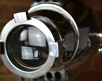 SearchLight - SpotLight - Ship's Light - Wall Search Light - Steampunk Light - Industrial Light - Industrial Lamp - Best Quality