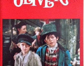 Movie program for Oliver, 1968.