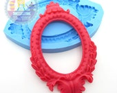 Large Cameo Setting Frame Setting Area 40x30mm Bakery Flexible Mold 260L* BEST QUALITY