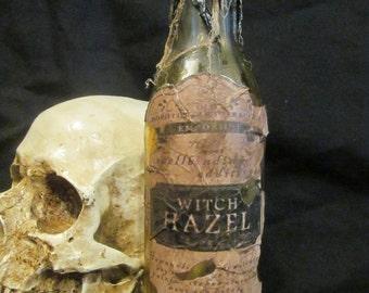 Halloween Potion Bottle/Jar Witch Hazel