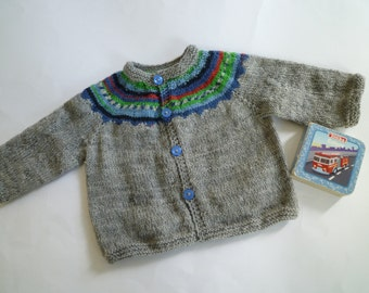 Baby boy gift,knit baby sweater,knit baby cardigan,baby boy sweater,wool baby cardigan,free shipping