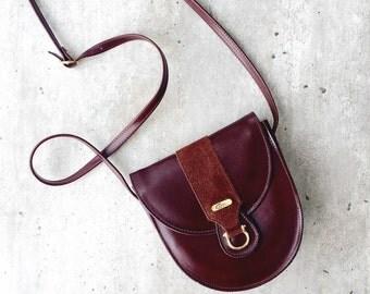 Vintage bag Celli Vintage Brown Bag Real Leather Handbag Shoulder Bag Cross Body Celli Ireland Gift For Her Gift For Irish Evening Bag