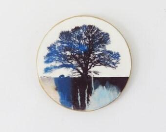 Tree Sihouette Brooch