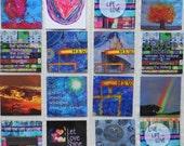 Original Art Print High Gloss Magnets