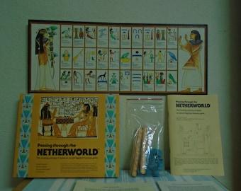 Passing Through The NEVERWORLD! 1978 T. Kendall / Senet Ancident Egyptian Game!